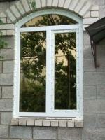 Арочные окна.