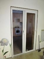 Раздвижня металлопластиковая дверь_1